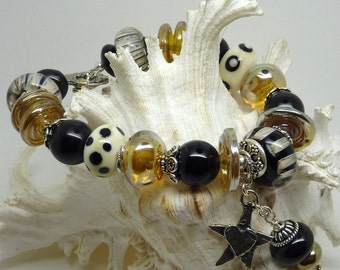 Lampwork Bracelet SWEET DREAMS