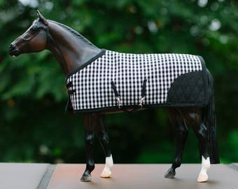 Breyer Model Horse Peter stone blanket rug set tack traditional sized 1:9 scale