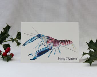 Merry CRAYsmas: Illustrated Christmas Card