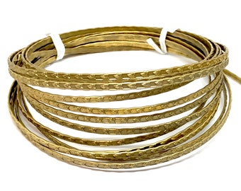 Vintage Gallery Wire, Bezel Wire, Over 15 Feet, Leaf Patterned, Patina Brass, Heavy Designer Wire, B'sue Boutiques, 1/16 Inch Wide,Item06915