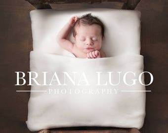 Digital newborn bed prop
