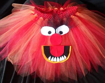 BanAnnaz Custom Crafts, Animal tutu, Animal costume, Muppet tutu, Muppet costume, Muppets birthday party, Muppet rave tutu, muppet racer tut