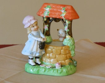 Girl at the Well Planter Figurine