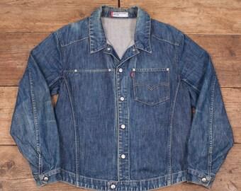 """Mens Vintage Levis Red Tab Engineered 70100 Workwear Jacket Medium 40"""" R6071"""
