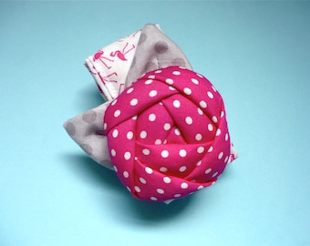 Rose Wrist Pincushion. Pincushion Bracelet. Pincushion Wrist Cuff. Sewing Gift