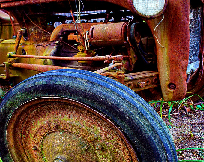 Ford Tractor Parts, Farmers/Morehead Ky, Fine Art Print on Paper or Canvas, Custom or Framed Orders Welcome