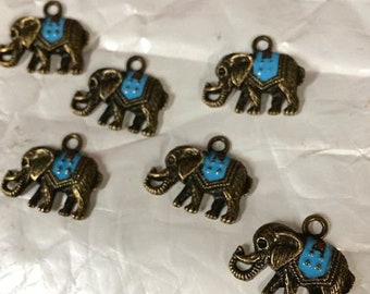 Bohemian Elephant Charm/Pendant