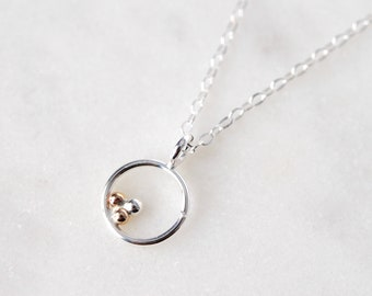 Geometric Necklace, Small Geometric Necklace, Circle Necklace, Hexagon Necklace, Tear Drop Necklace, Dot Necklace, Minimal Necklace, Simple