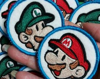 Mario and Luigi Patches