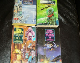 Vintage Asminov Sci Fi Collection