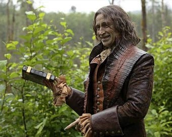 Custom Made Rumplestiltskin from Once Upon a Time faux leather coat and vest
