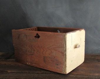 Salvaged Wood Drawer,  Vintage Hoosier Drawer, Farmhouse Barn Find