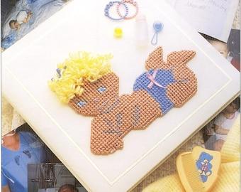 Plastic Canvas Vintage Plastic Canvas Patterns Baby's Book Plastic Canvas Pattern