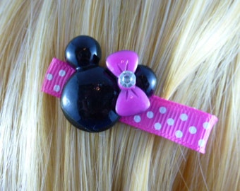 NEW - Minnie Mouse Princess Hair Clips, Hairclip, Hair Bow, Hairbow, Hair Accessory, M2M Disney - HM80