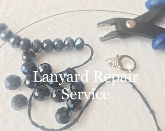Beaded Lanyard Repair