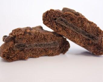 Double Chocolate Mint Cookies - 24 cookies