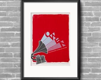 Owen - Mike Kinsella - Silkscreen Show Poster