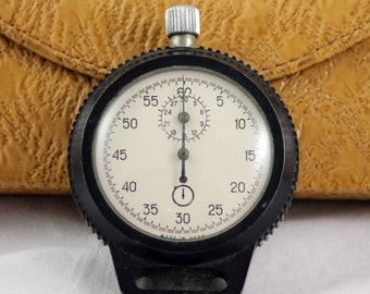 Rare Vintage Sport Chronometer SERVICED Stopwatch from 1970's Export Version made in USSR