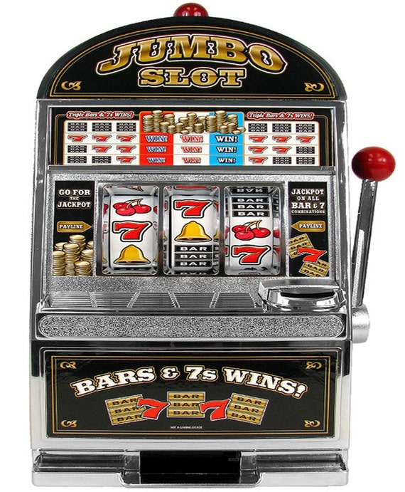 Casino Slot Machine Birthday - Edible Cake and Cupcake Topper For Birthday's and Parties! - D6424