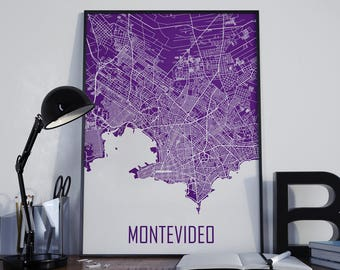 Map of uruguay etsy montevideo city map montevideo map montevideo poster montevideo photo montevideo print street map home decor montevideo publicscrutiny Gallery