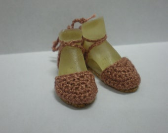 Enchanted Doll Espadrilles in Light Brown (Taupe)