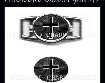 CROSS Paracord Bracelet Charm Shoelace Charm 5