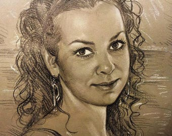sketch, custom pencil sketch,portrait from photo,pencil sketch, girl sketch