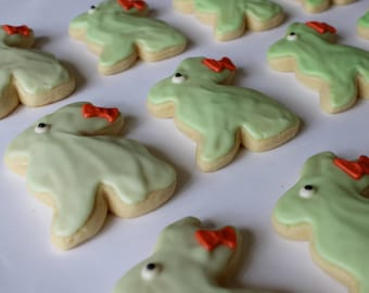 Ombre Easter Bunny /  Easter Bunny / Easter Sugar Cookies with Buttercream Frosting