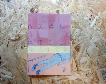 Axolotl #3 by Jack Fallows - 30 page comic of woe and anxiety!