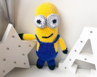 Kevin The Minion PDF Crochet Pattern