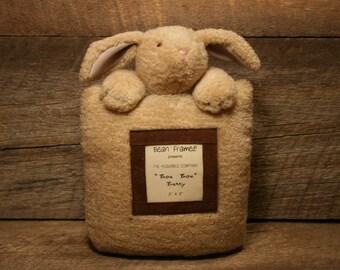 bean framed bunny