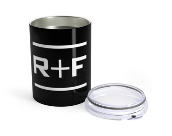 RF Black Wine And Drink Tumbler 10Oz