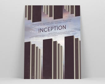 Inception Poster ~ Movie Poster, Film Gift, Art Print by Christopher Conner