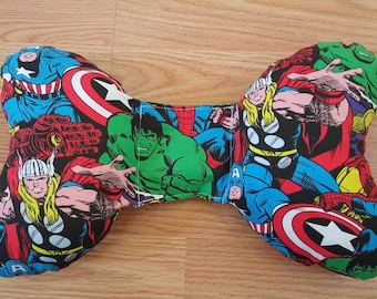 Marvel Infant Head Support - Torticollis - Positional Plagiocephaly - Elephant Ear Pillow - Car Seat Head Support - Unique Baby Shower Gift