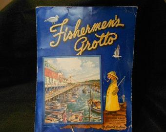 San Francisco/Fishermens Grotto/1950s/Menu