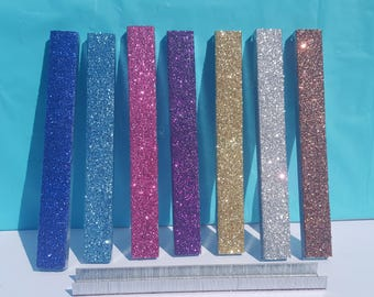 Glitter Staples, (Your Choice of Color), Pink Staples, Blue Staples, Silver Staples, Gold Staples, Purple Staples, Red Staples