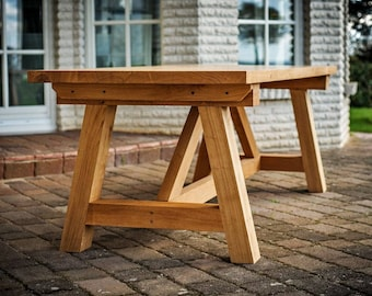 Dining table Leonardo - solid wood oak