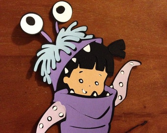 Boo die cut from Monsters Inc