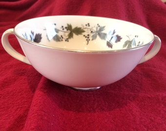 Royal Doulton Burgundy Soup Bowl