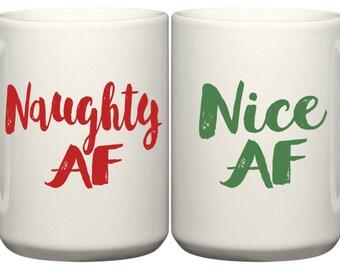 Naughty & Nice AF Coffee Mug