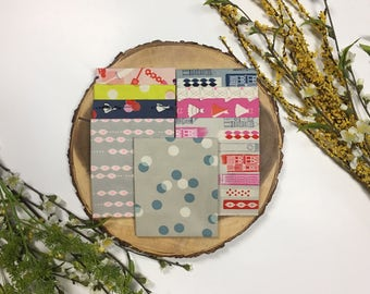 Fat Quarter Bundle: Jubilee-the bright ones (9 FQ),Designer Melody Miller, Cotton and Steel Fabrics, Quilting Cotton.