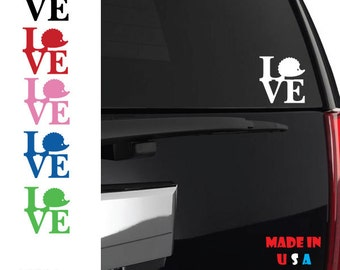 Hedgehog Vinyl Sticker Decal Hedgehog love