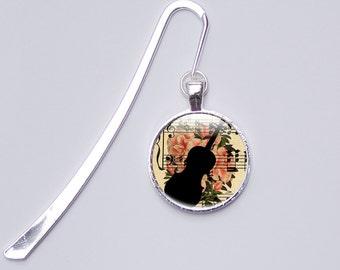 Music Bookmark, Musical Metal Bookmark, Music Gifts for Her, Bookmarks for her, Photo Bookmark (bookmarks 3)