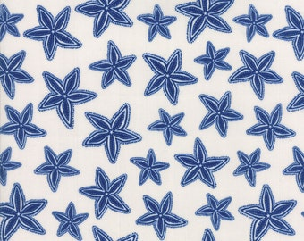 Moda Tide Pool Seaside Starfish White 24563-11