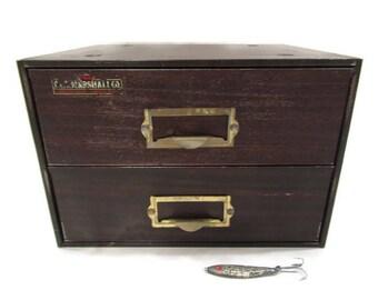 C. & E. Marshall Co. Metal Watch Making Tool Cabinet; Industrial Cabinet, Industrial Drawers, Industrial Storage, Metal Drawers