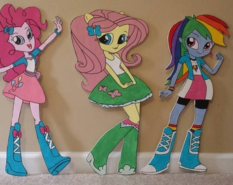 ONE 2' tall My Little Pony Equestria Girl