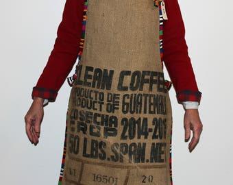 Coffee Bag Apron, Clean Coffee Guatemala