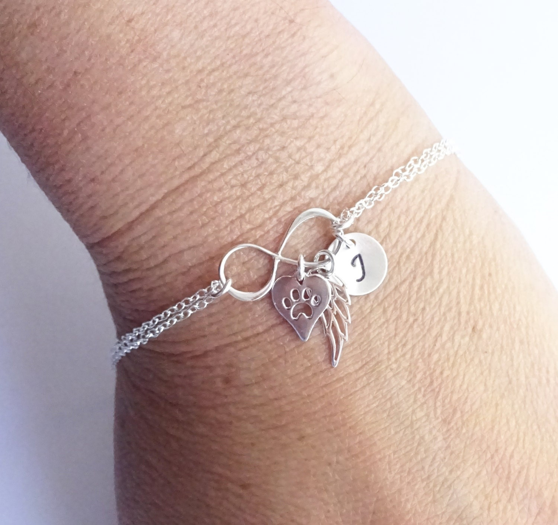 bracelets chic silver heart bracelet jewellery sterling cyprus infinity azure shop
