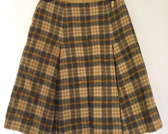 Vintage Pendleton wool skirt 1960