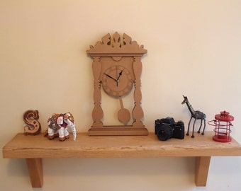 Cardboard Mantle Clock